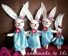 Rabbit Rabbit, Christmas Ornaments, Holiday Decor, Home Decor, Xmas Ornaments, Homemade Home Decor, Rabbits, Christmas Jewelry, Bunny
