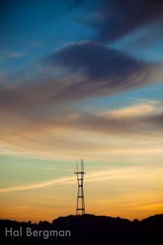 Sutro Tower, San Francisco, California