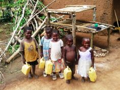 Children from Bibbo Village, Uganda
