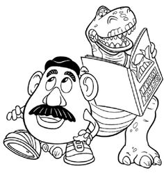 toy story alphabet coloring pages