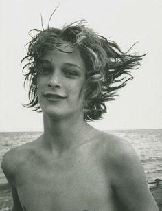 Björn Andrésen as 'Tadzio' in Death in Venice (1971), photo by David Bailey