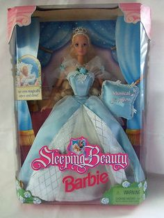 Sleeping Beauty Barbie 1998. Matt got this for me for my 7th birthday. <3