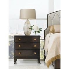 Crestaire-Ladera Night Stand - Crestaire Products - Crestaire - Contemporary - Styles - Stanley Furniture