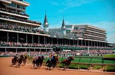 go to Kentucky Derby....mainly because I want to wear a fancy hat!!!!