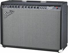 "The Fender Frontman 212R Guitar Combo Amp is a solid-state combo amp worthy of the Fender nameplate. The Frontman 212R pumps a big 100W into two Fender Special Design 12"" drivers. The versatile Drive/More Drive channel has a mid contour switch that lets you dial in the right distortion for rock, punk, blues, or metal. The amp's clean channel speaks loud and clear in the best Fender tradition. Other niceties include spring reverb, black control panel, and chrome hardware."