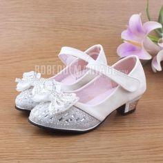 96bb591fb9240 Paillette satin chaussures du mariage pour fille chaussure pas cher    ROBE208729 . Chaussures FilleChaussure EnfantRobe Ceremonie ...