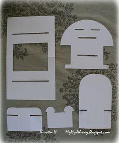 """Denne gangen er utfordringen å lage noe med sommerfugler hos Kort o Mania . Mitt bidrag er et """"hylle kort"""" eller """"shelf card"""". Denne t..."""