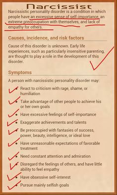 Bingo! #narcissist