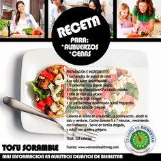 100% BIENESTAR =: ¿Quieres probar una receta con tofu? No te pierdas...
