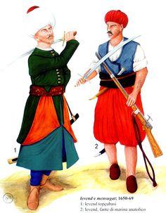 1650 Levend topcubasi e infante de marina anatolio