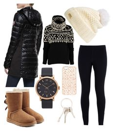 """Untitled #104"" by becker17 ❤ liked on Polyvore featuring Canada Goose, NIKE, UGG Australia, Burberry, Marc by Marc Jacobs, Marc Jacobs and Givenchy"