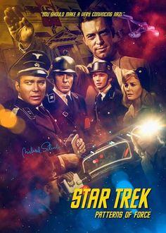 "Star Trek: The Original Series ""Patterns of Force"" (First Broadcast: February Star Trek Meme, Star Trek Crew, Star Trek 1966, Star Trek Tv, Star Wars, Star Trek Books, Star Trek Characters, Star Trek Original Series, Star Trek Series"