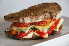 Sandwich gourmet de queso | L'Exquisit