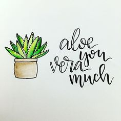 Plants Cactus Aloe Vera Ideas For 2019 Wedding Card Quotes, Wedding Cards, Zentangle, Cactus Quotes, Plants Quotes, Calligraphy Doodles, Calligraphy Handwriting, Handwriting Ideas, Calligraphy Watercolor