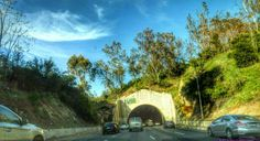 THINK BLUE: #UGLAgrammers #LosAngeles #LosScandaless #LosAngelesCounty #110fwy #Camerateur # #Nikon #Nikonistas #NikonCoolPixP900 #Conquer_LA #Traffic # # #P900 # # # # #Californialivin by eighty4ourfly