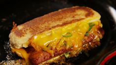 Grilled Cheese Dogs Recipe – Perfect a classic with hot dogs in this easy, cheesy recipe. Grilled Cheese Hot Dog, Cheese Dog, Grilled Sandwich, Soup And Sandwich, Vegan Cheese, Dog Recipes, Cooking Recipes, Good Food, Yummy Food