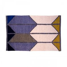 Shapes Dhurrie Rug - 4' x 6'