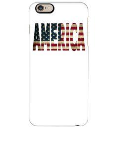 AMERICA FLAG DESIGN - iphone 6 Plus Case