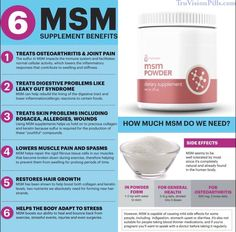 MSM Powder by TruVision Health http://truvisionpills.com/product/msm-powder/
