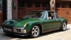 """Irish Green"" 1970 Porsche 914/6 (GT Styling)"