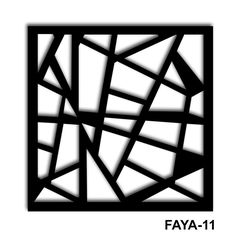 #FAYA Mashrabiya Screen Design, Text Design, Opt Art, Laser Cut Screens, Stencil Art, Stencils, Grill Design, Hand Sketch, Scroll Saw Patterns
