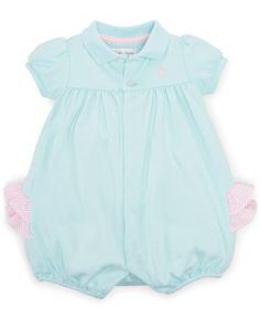Ralph Lauren Baby Girls' Polo Shortall