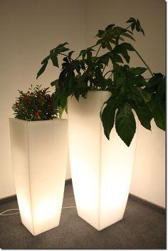 JUNO Decorative Flower Plant Pot Illuminated Led Light Lamp Garden Home 75 cm #PDCONCEPT #Modern
