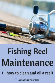 Fishing Reel Maintenance_ How To Clean And Oil A Reel - Read our 9-Step guide that takes you through the process of cleaning and then lubricating/oiling your reel to help it last for years to come