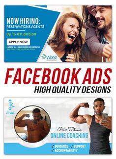 Facebook Ad Template, Facebook Image, Online Coaching, Social Media Design, Ad Design, Service Design, How To Apply, Ads, Advertising Design