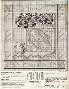 Hobby lavori femminili - ricamo - uncinetto - maglia: Schemi LE 4 Stagioni Punto Croce