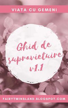 Ghid de supravietuire v1.1 Sell Your Books, Organized Mom, Tandem, Elizabeth And James, Mojito, Breastfeeding, Feminine, Healing, High Level