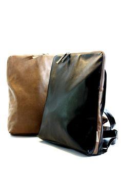 Black Backpack, Vegan Backpack, Woman Backpack,  Black Laptop Bag, Padded Laptop Bag, Black Computer Bag by TikeStudio on Etsy