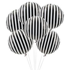 Black And White / Balloons