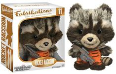 Funko Fabrikations Rocket Racoon Toy Character Guardian of the Galaxy Movie Rocket Raccoon, Racoon, Galaxy Movie, Guardians Of The Galaxy, Plushies, Teddy Bear, Boutique, Toys, Movies