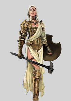 f Cleric med armour shield hammer Chandra Pandhita (@PhotonBetamax) | Twitter