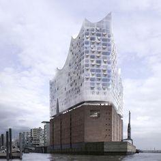 Elbphilharmonie. Hamburg, Germany.