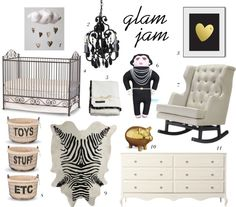 The Glam Nursery@pnmag