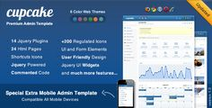 Deals Cupcake - Premium Admin Template  + Mobile Themelowest price for you. In addition you can compare price with another store and read helpful reviews. Buy
