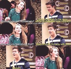 Maya and Lucas. (Girl Meets World; Girl Meets Yearbook)