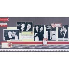A Dream Come True PS I Love You Scrapbook Layout Page Idea from Creative Memories. Products available through February 2013, while supplies last!