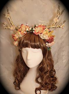 mori antler headband by enchanted dream wear