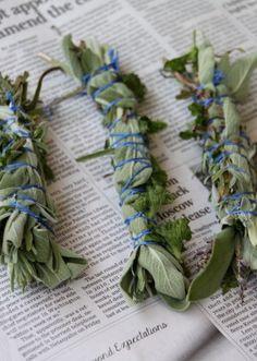 Burn herbal bug repellent bundles