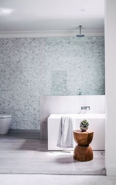 Mermaid tile fever over here at Barnaby Lane. have out-done themselves with this cutee of a bathroom 👌 Bathroom Renos, Laundry In Bathroom, Bathroom Layout, Bathroom Ideas, Bathroom Inspo, Bathroom Designs, Bathroom Goals, Family Bathroom, Bathroom Interior