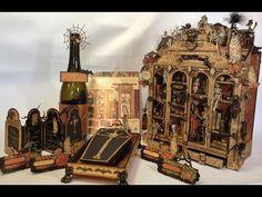 G 45 Rare Oddities Mini Album and more - Tutorial for the coffin mini album base by Anne Rostad