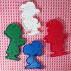 For Sale – Peanuts Christmas Cookie Cutters - What's Christmas without cookies? Less fattening, but just not as much fun. Make your own delicious Christmas cookie masterpieces with Snoopy, Charlie Brown, Lucy and Linus cookie cutters by Hallmark! Find them in our shop at CollectPeanuts.com.