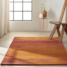 Calvin Klein 'Luster Wash' is a luxuriously textured collection of handcrafted rugs in New Zealand wool pile reflects the highest standards of craftsmanship and attention to detail. A special luster wash imbues each rug with a subtle and uniquel Calvin Klein Rugs, Burgundy Rugs, Orange Area Rug, Wool Area Rugs, Wool Rugs, Types Of Rugs, Indoor Rugs, Online Home Decor Stores, Modern Rugs