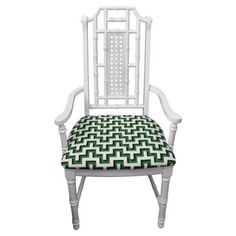 Check out this item at One Kings Lane! Faux-Bamboo Desk Chair