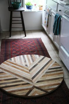 beautiful reclaimed wood table