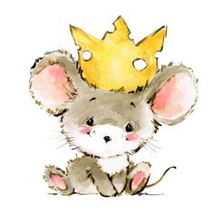 Find Cartoon Mouse Watercolor Illustration Cute Mice stock images in HD and millions of other royalty-free stock photos, illustrations and vectors in the Shutterstock collection. Maus Illustration, Cute Animal Illustration, Cute Animal Drawings, Watercolor Illustration, Cute Drawings, Watercolor Art, Illustrations, Image Clipart, Art Clipart
