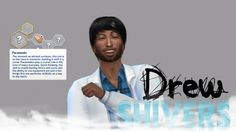 Custom CAS Trait Paramedic at Drew Shivers • Sims 4 Updates
